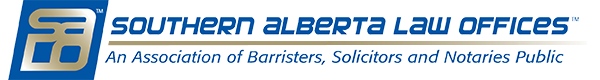 Southern Alberta Law Offices - An Association of Barristers, Solicitors and Notaries Public